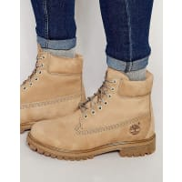 TimberlandIcon 6 Inch Leather Premium Boots - Beige