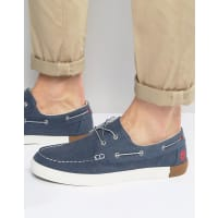 TimberlandNewport Canvas Boat Shoes - Blue