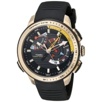 TimexMens TW2P44400DH Intelligent Quartz Yacht Racer Analog Display Analog Quartz Black Watch