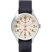 TimexArchive Waterbury United Stainless Steel And Webbing Watch - Navy