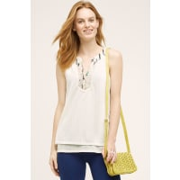 TinyCassia Tank Top, Neutral