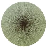 Tisch New YorkShadow Lines PlacematGreen/Black