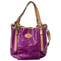 Tod'sPre-Owned - Purple Patent leather Handbag