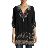 TolaniTina Embroidered Easy Tunic