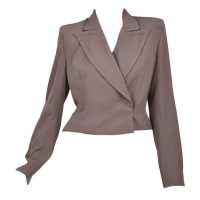 Tom FordFor Yves Saint Laurent Stretch-faille Jacket