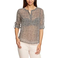 Tom TailorDamen Slim Fit Bluse lucy leo blouse/408