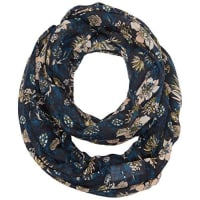 Tom TailorDamen Umschlagtuch loop scarf with flower print