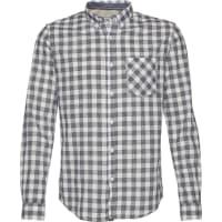 Tom TailorHemd summery slub checked shirt blau / weiß