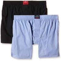 Tom TailorHerren Boxershorts Web-shorts 2er Pack