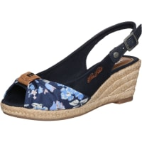 Tom TailorSling-Sandalette mit Keilabsatz blau