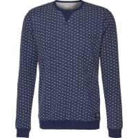 Tom TailorSweatshirt Jaquard blau