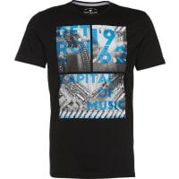 Tom TailorT-Shirt mit Foto-Print schwarz