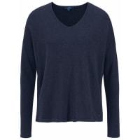 Tom TailorV-Ausschnitt-Pullover blau