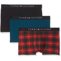 Tommy Hilfiger1U87905447, Boxer Homme, Multicolore (Scooter/Legion Blue Pt/Dark Navy Pt 944), Small (Taille Fabricant: Small) (lot de 3 )