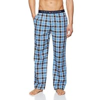 Tommy HilfigerIcon Woven Pant Check, Bas de Pyjama Homme, Bleu (French Blue-Pt), Large (Taille Fabricant: LG)