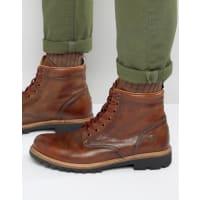 Tommy HilfigerHilfiger Denim Luca Lace Up Boots - Brown