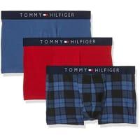 Tommy HilfigerHerren Boxershorts Icon Trunk 3 Pack Check