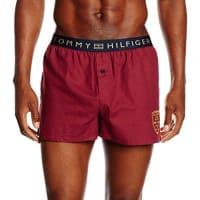 Tommy HilfigerHerren Boxershorts Prep Woven Boxer Embroidery