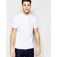 Tommy HilfigerSchmales Polohemd in Weiß - Weiß