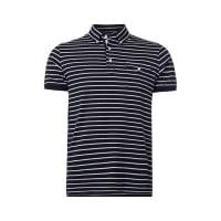 Tommy HilfigerSlim Fit Poloshirt mit Streifenmuster