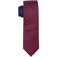 Tommy HilfigerTailored Tie 7cm TTSCHK16401, Cravatta Uomo, Rot (620), Taglia Unica