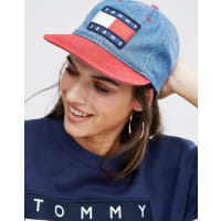 Tommy Jeans90s Denim Cap - Ribbon red