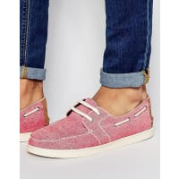 TomsCulver Boat Shoe - Red