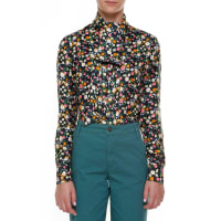 Tory BurchAzra bow blouse, size 10, Multicolor