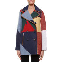 Tory BurchCheval peacoat, size XS, Multicolor
