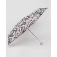 TotesMini Thin Umbrella In Rose Outline Print - Pink rose outline pr