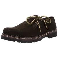 TrachtenRebellSepp - zapato oxford de cuero hombre, color marrón