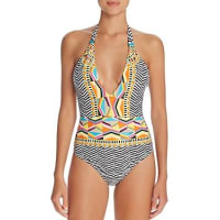 Trina TurkBrasilia Plunging V-Neck One Piece Swimsuit
