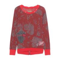 True ReligionSweater Patches Tomato