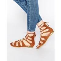 TruffleGladiator Flat Sandals
