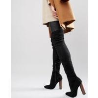 TruffleTruffle - Wham - Stivali elasticizzati sopra il ginocchio - Nero
