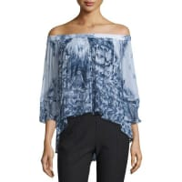 TRYB 212Morgan Off-The-Shoulder Printed Top
