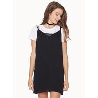 TwikTiny lace V slip dress