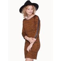 TwikShiny detail heather dress
