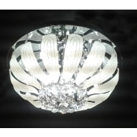 UGEQuinta Pendant Close to Ceiling K9 Crystal in 50cm
