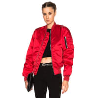 UnravelFWRD Exclusive Bomber in Red