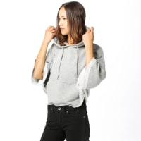 Urban ClassicsHoodie - Cropped Hooded Poncho