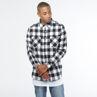 Urban ClassicsShirt - Checked Flanell
