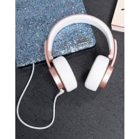 UrbanistaSeattle Headphones in Rose Gold - Pink