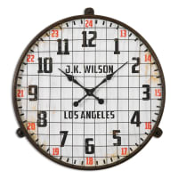 UttermostMax Aged Wall Clock