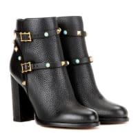 ValentinoAnkle Boots Rockstud Rolling aus Leder