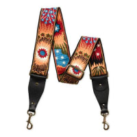 ValentinoEnchanted Wonderland Guitar Strap for Handbag, Black Multi