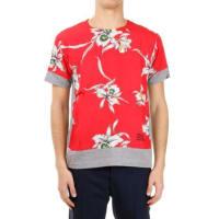 ValentinoFloral Printed round Neck T-shirt Frühling/Sommer