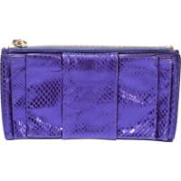 ValentinoSegunda mano - Bolsos clutch en Cuero Violeta