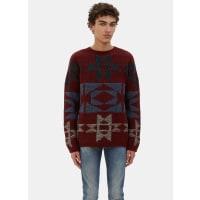 ValentinoPatterned Cashmere Knit Sweater