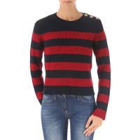 ValentinoPullover für Damen, Pulli Günstig im Sale, Blau, Schurwolle, 2016, 40 42
